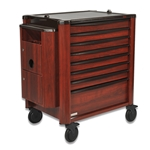 Prestige Designer Extended 10 Level Medication Cart