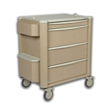 Prestige Punch Card Medication Cart